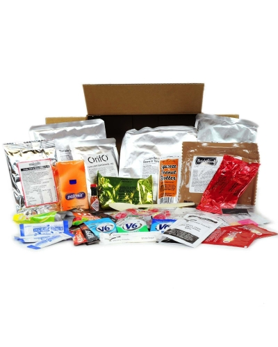 Menu 16 - 24 Hr Military Style Ration Packs