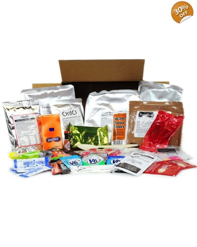 Menu 9 - 24 Hr Military Style Ration Packs