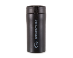 LifeVenture Flip Top Thermal Mug in Bl..