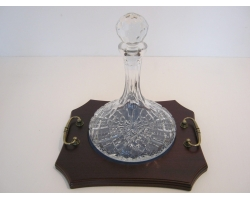 Crystal Ships Port Decanter
