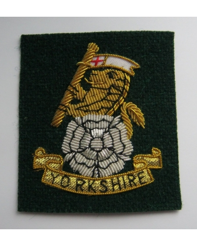 Yorkshire Regiment Officers' Cap Badge