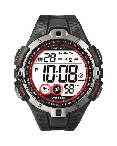 Timex Marathon Red Digital Watch