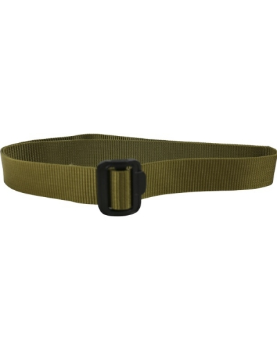 "Tactical Fast Fit Belt in Green or Coyote - One Size upto 46"" Waist"
