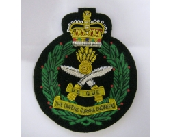 Queens' Gurkha Engineers Bullion Blaze..