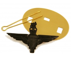 Parachute Regiment Black Beret Cap Badge
