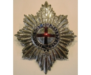Coldstream Guards Officers Pith Badge