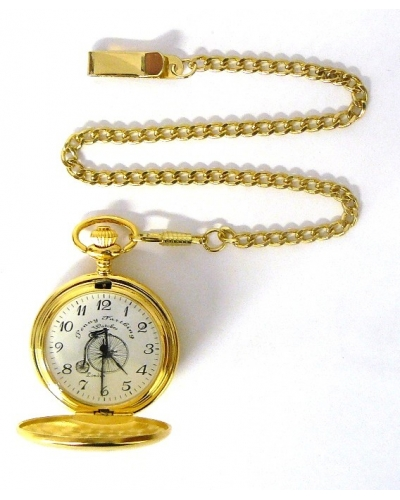 Royal London Gold tone Pocket Watch