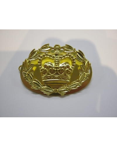 British Army Brass RQMS Crown
