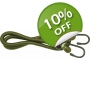 Olive Bungee 10 mm x 60..
