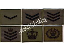 Commando Rank Square - Hook & Loop Bac..