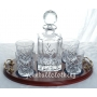 Crystal Whisky Decanter..