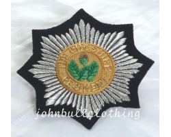 Cheshire Regiment Bullion Blazer Badge