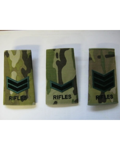 Rifles Multicam Rank Slide