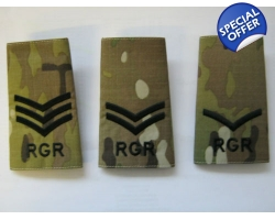 Royal Gurkha Rifles Multicam Rank Slide