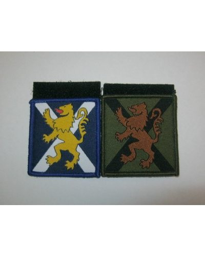 Royal Regiment of Scotland TRF - Hook & Loop Backing
