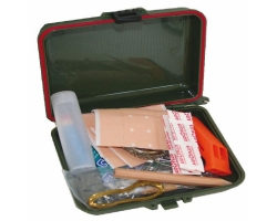 Survival Kit in a Plastic Case
