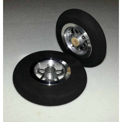Lightweight  alloy wheels 57mm/64mm