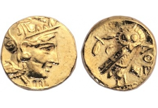 Athens Gold Stater Coins, pack of 20