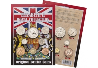 Elizabeth II Royal Coin Collection Pack
