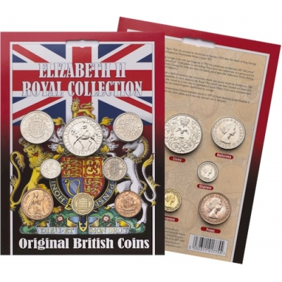 Elizabeth II Royal Coin..