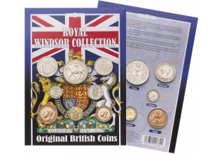 Royal Windsor Collection - Original British Coins
