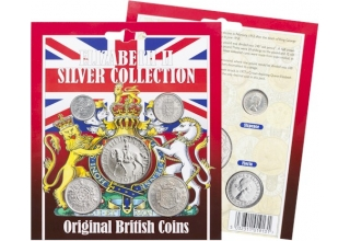 Elizabeth II Silver Original Coin Collection