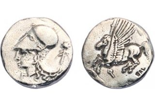 Corinthian Silver Didrachm Coin, pack of 60