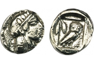 Athens Silver Didrachm, pack of 60