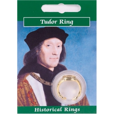 Henry VII Signet Ring - Gold Plated
