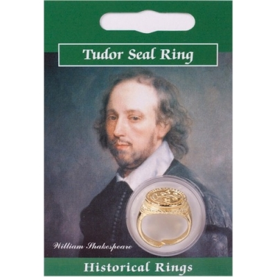 Tudor Seal Ring - Gold ..