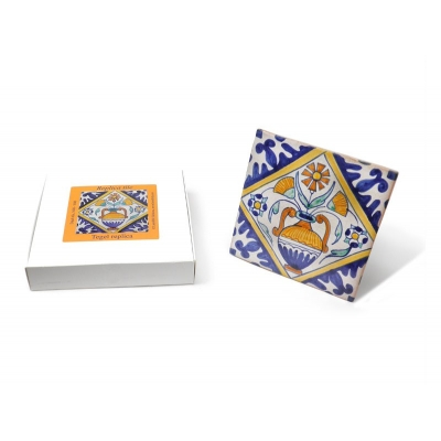 Tile with a Dutch motif - Fl..