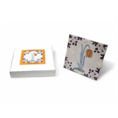 Tile with a Dutch motifs - L..