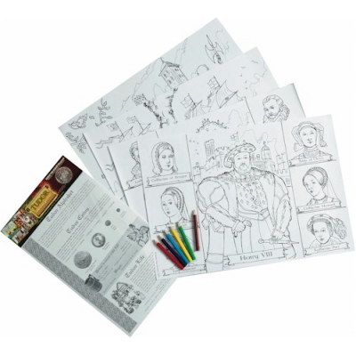 Tudor Educational Colouring Posters
