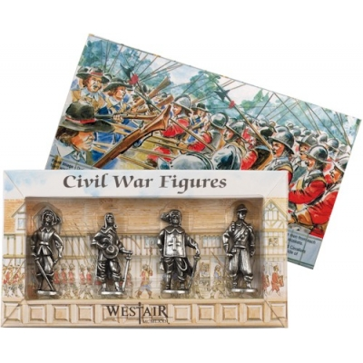 Set of 4 Civil War Figu..