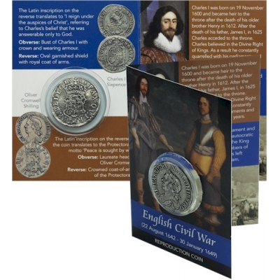 Civil War Coin Pack - Oliver Cromwell