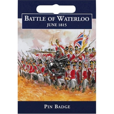 Waterloo Cavalry Pin Ba..