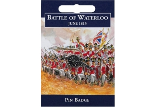 Waterloo Cannon Pin Badge - Pewter