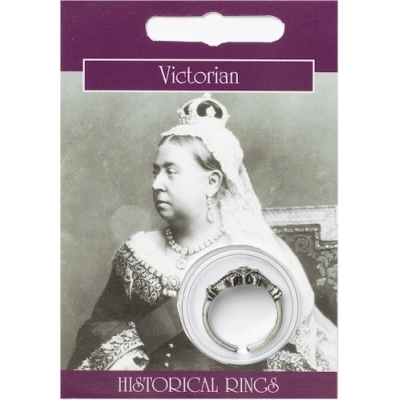 Victorian Ring - Pewter