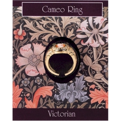 Cameo Ring - Gold Plated