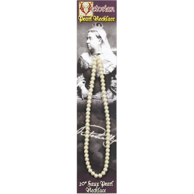 Victorian Faux Pearl Necklace 20
