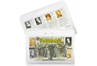 Victorian Pack of 4 Miniature Figures
