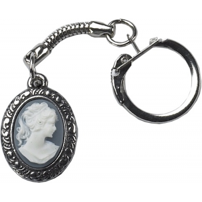 Small Cameo Key-Ring