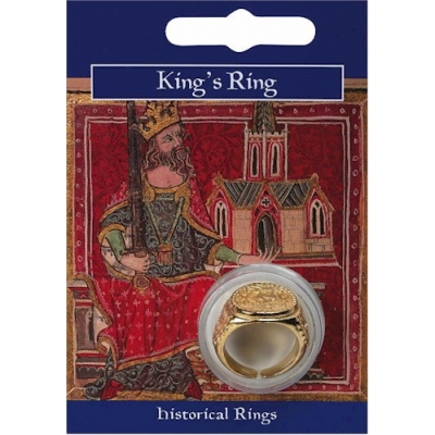 King's Ring - Gold Plated