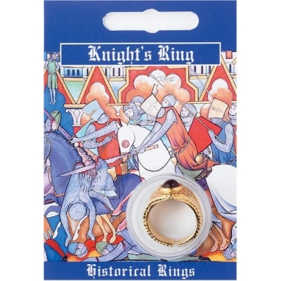 Knights Gem Ring - Gold Plated