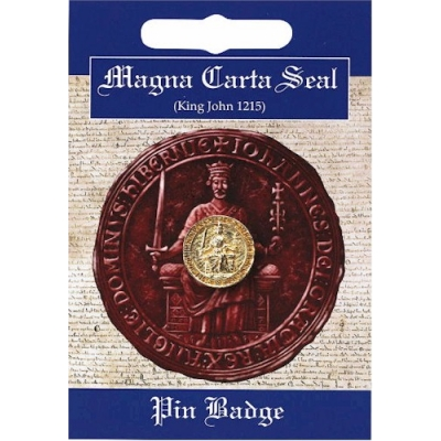 Magna Carta Pin Badge -..
