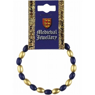 Medieval Blue & Gold Be..