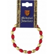 Medieval Red & Gold Bea..