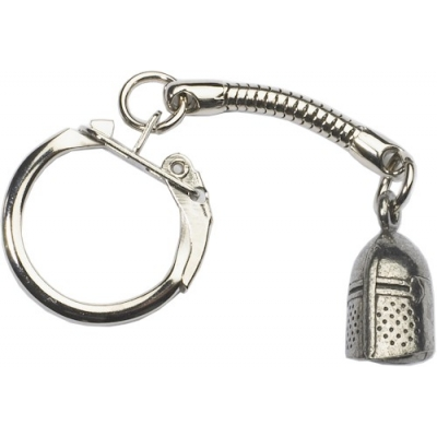 Knight's Helmet Key-Ring