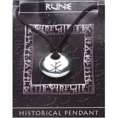 Rune Stone Pendant - Wealth