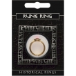 Rune Gem Ring - Gold Pl..